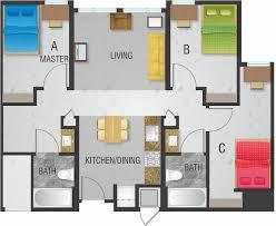 3 bedroom 2 bath floor plans. 3 bedroom, 2 bath floor plan bedroom plans b