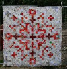 pixel snowflake quilt - front   Snowflake quilt, Patchwork and Low ... & pixel snowflake quilt - by Lotje Adamdwight.com