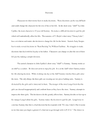 english essay short story template english essay short story