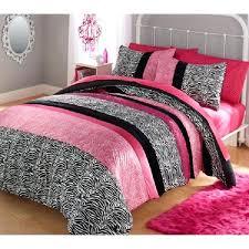 gorgeous hot pink twin bedding comforter bedding reversible set hot pink zebra black 3 4 piece