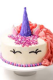How To Make An Easy Unicorn Cake Thanksgivingcom