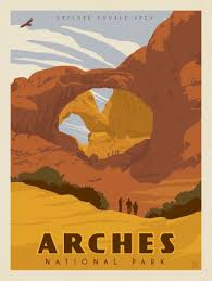 National Parks Posters Anderson Design Group Anderson Design Group 61 American National Parks Arches