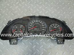 2000 2001 2002 2003 2004 2005 Chevrolet Monte Carlo Instrument ...