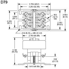nte electronics rly400 series definite purpose contactors nte rly455 definite purpose contactor d79 diagram