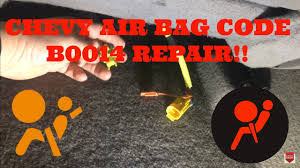 2004 Chevy Avalanche Service Airbag Light Is On Chevy Air Bag Code B0014 Repair