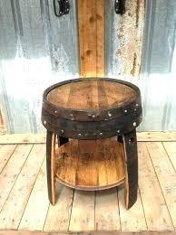 whiskey barrel furniture cky wine