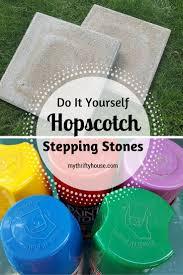 Diy Stepping Stones Diy Hopscotch Stepping Stones Ccbg 18 My Thrifty House