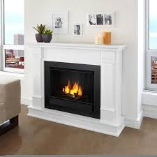 real flame silverton white 48 in l x 13 in d x 41 in