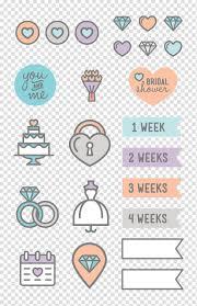 Wedding Planner Wall Chart Wedding Invitation Sticker Wedding Planner Label Wedding