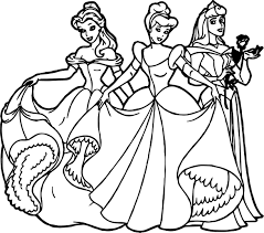 Cute Disney Princesses Coloring Pages Chibi Coloringstar All