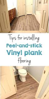 how to install vinyl plank flooring in a bathroom l and stick vinyl plank flooring how