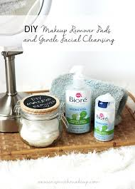 diy makeup remover pads gentle cleansing