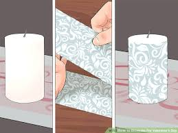 image titled decorate. Perfect Titled How To Decorate Candles Image Titled For Valentines Day Step  Decorating Glass Candle Holders With Tissue Paper On R