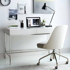 white desk home office. White Furniture Office West Elm Lacquer Storage Desk Glam Desks Home Ikea O