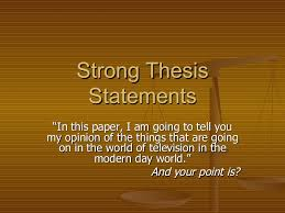 Analytical thesis statement help how to write a good thesis statement  Template FAMU Online
