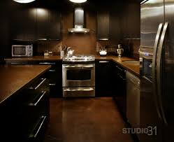 Wonderful Dark Kitchen Cabinets Colors Popular With Brown Ideas