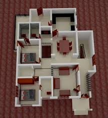 low budget kerala home design with 3d plan 1
