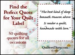 Quilt Label Sayings and Quotes for All Occasions » New Quilters & Quilt Label Sayings and Quotes for All Occasions Adamdwight.com