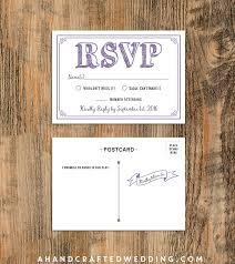 wedding rsvp postcards templates 10 rsvp postcard lavender sample diy rsvp postcard template
