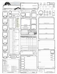 dnd 3 5 character sheet fully loaded 5e character sheet dungeon masters guild wargame vault