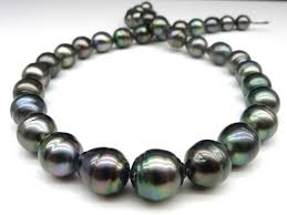 9 11 mm baroque tahitian pearl necklace