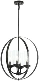 4 pendant light fitting bronze with gold