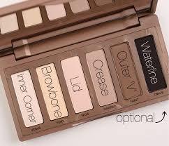 basics pallet everyday simple makeup look