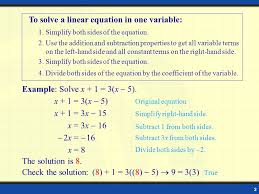 examples of problem solving involving linear equations in one word problems involving linear equation in one variable jennarocca