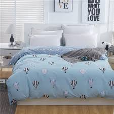 100 cotton duvet cover home children brief style bedding printed colored cartoon quilt cover for