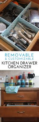 Kitchen Drawer Organizer How To Make A Customizable Kitchen Drawer Organizer