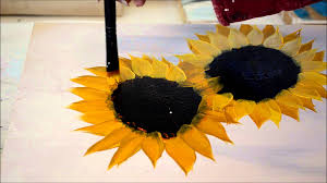 Simple Painting Painting Sunflowers Simple And Fun Youtube