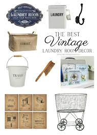 Laundry Room Accessories Decor The Best Vintage Laundry Room Decor Giveaway So Much Better 63