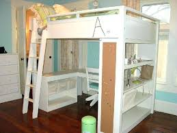 bunk bed office underneath. Contemporary Bed White Full Size Bunk Beds Bed Office Underneath Large Of  With Desk  And