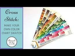 Dmc Floss Number Color Chart Dmc Color Chart Project Make Your Own Embroidery Floss