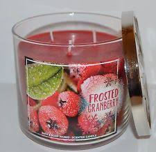 frosted cranberry candle bath and body works bath body works sparkling pear riesling 3 wick large scented
