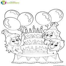 Mooie Jarig Verjaardag Kleurplaten Leuk Voor Kids Idee Papa