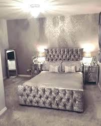 glitter wallpaper for bedroom silver