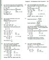 classy simultaneous equations worksheet with answers word problems for simultaneous equation examples and answers tessshlo