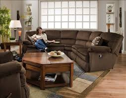 chocolate brown living room furniture. falcon reclining 2pc sectional sofa by catnapper soft chocolate brown fabric 1479 furnitureliving room living furniture k