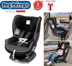 peg perego viaggio 0 1 convertible baby car seat with isofix us model crystal black with free gift