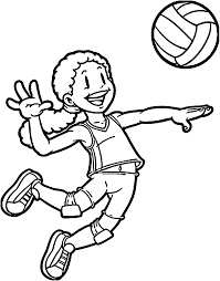 Sports Drawing For Kids At Getdrawingscom Free For Personal Use