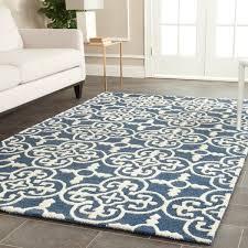 safavieh handmade cambridge moroccan navy wool area rug safavieh moroccan blue rug