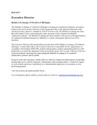 Cover Letter For Chief Of Staff Position Executive Director Job Description Sarahepps Com With Cover Letter