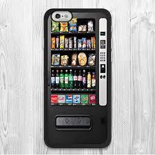 Vending Machine Design Beauteous Amazon For IPhone 48 48 Plus Case Snack Vending Machine