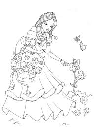 Not only does it help visual learners to remember the letters, but it serves as an important tool to help kids remember how to form letters as they begin to write. Non Disney Princess Coloring Page Through The Thousands Of Images Online About Non D Disney Princess Coloring Pages Princess Coloring Pages Princess Coloring