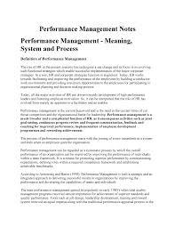 Performance Management Notes 7202pes Griffith Studocu