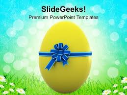 Easter Egg For Someone Special Powerpoint Templates Ppt