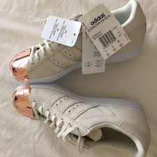 adidas rose gold. adidas shoes - superstar 80\u0027s rose gold toe sneakers g