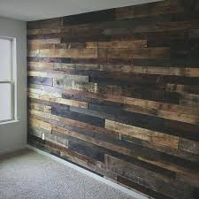 rustic pallet wood wall for the home walls and covering ideas