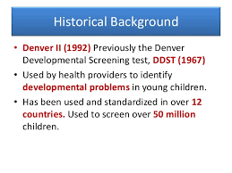 Denver Developmental Screening Test Sada Margarethaydon Com